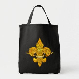 Fleur de Guardian Tote Bags
