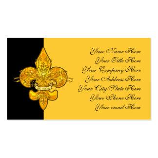 Fleur de Guardian Double-Sided Standard Business Cards (Pack Of 100)