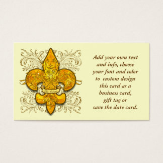 Fleur de Guardian Business Card