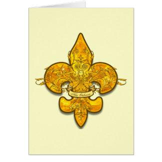 Fleur de Guardian Greeting Card