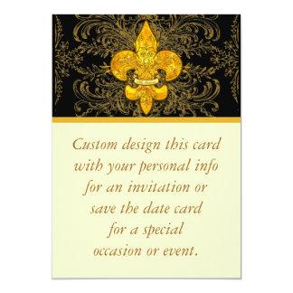 """Fleur de Guardian Invitación 5"""" X 7"""""""