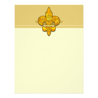 Fleur de Guardian Letterhead