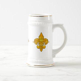 Fleur de Guardian 18 Oz Beer Stein