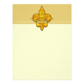Fleur de Guardian Personalized Letterhead