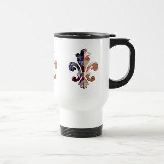 Fleur de Independence travel mug