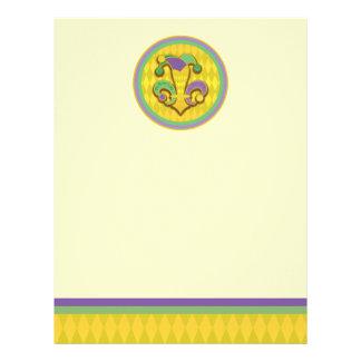 Fleur de Jester Custom Letterhead