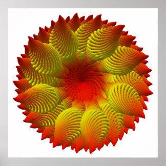 Fleur de la Mer (hi-res print) Poster