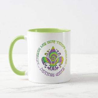 Fleur de Laissez Mug
