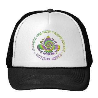Fleur de Laissez Trucker Hat