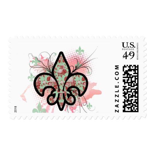 fleur de leis postage