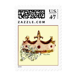 Fleur De Li Crown Stamp