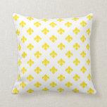 Fleur De Lis 1 Yellow Pillows
