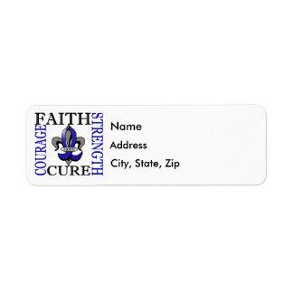 Fleur De Lis 3 CFS Label