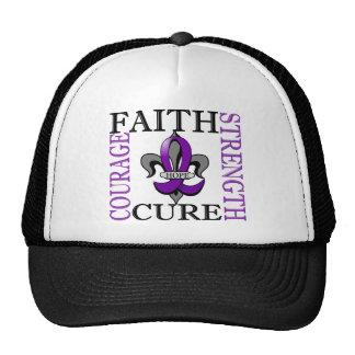 Fleur De Lis 3 Epilepsy Trucker Hat