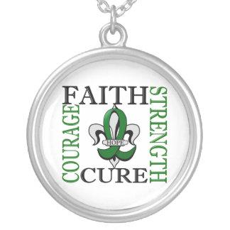 Fleur De Lis 3 Liver Cancer Custom Jewelry