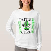 Fleur De Lis 3 Non-Hodgkin's Lymphoma T-Shirt