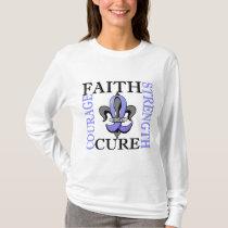Fleur De Lis 3 Thyroid Disease T-Shirt