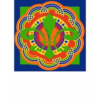 Fleur De Lis Art Deco shirt