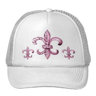 Fleur de Lis Baseball Cap Trucker Hat