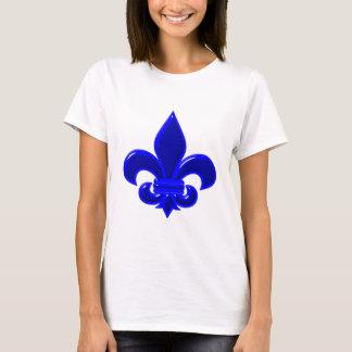 Fleur De Lis blue blue T-Shirt