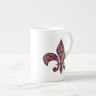 Fleur De Lis ~ Bone China 10oz Cup