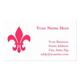 Fleur de Lis Business Card