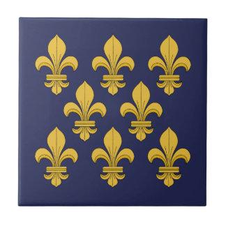 Fleur-de-lis Ceramic Tile