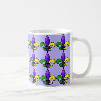 Fleur-de-lis Classic White Coffee Mug