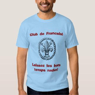 ¡Fleur_De_Lis, Club de Francais! , Laissez le bon… Playeras