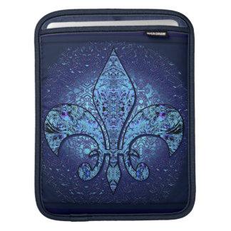 Fleur-De-Lis crest iPad Sleeves