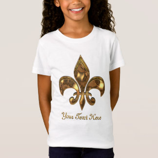 Fleur-de-lis Customizable Kids T-Shirt