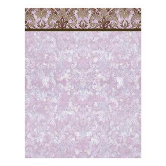 Fleur de Lis Damask - Matching Blank Stationery Letterhead