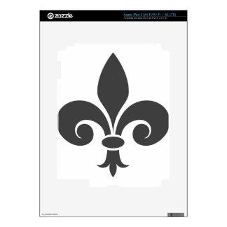 Fleur-De-Lis Decal For iPad 3
