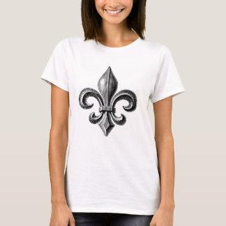 Fleur-De-Lis Design T-shirt