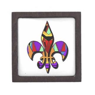 Fleur-de-lis,designs Premium Gift Box