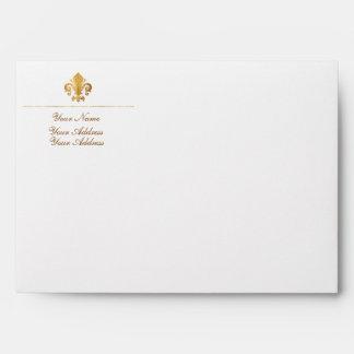 Fleur-de-lis Envelope