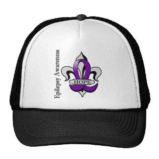 Fleur De Lis Epilepsy Hope Trucker Hat