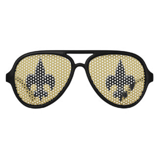 Fleur De Lis Aviator Sunglasses