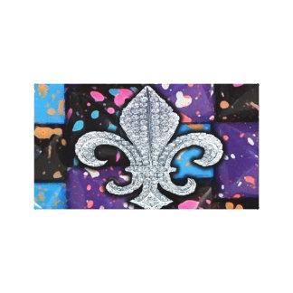 Fleur De Lis Flor  New Orleans Canvas Print