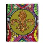 Fleur De Lis Flor  New Orleans iPad Case