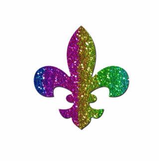 Fleur De Lis Flor  New Orleans Jewel Sparkle photo Cut Outs