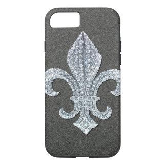Fleur De Lis Flor  New Orleans Stone Jewel iPhone 7 Case