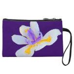 Fleur-de-lis (Flower Of The Lily) Wristlet Purse