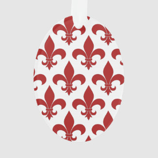 Fleur de lis French Pattern Parisian Design Ornament