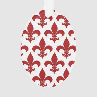 Fleur de lis French Pattern Parisian Design Ornament