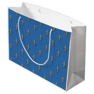 Fleur de Lis gift bag Large Gift Bag
