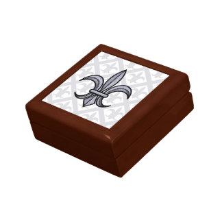 Fleur-de-Lis Gift Box (silver)