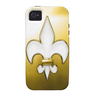 Fleur De Lis Heaven Case-Mate iPhone 4 Covers