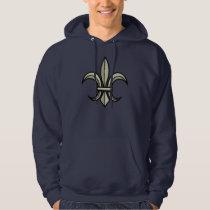 Fleur-de-Lis Hoodie (gold)
