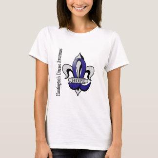 Fleur De Lis Huntington's Disease Hope T-Shirt
